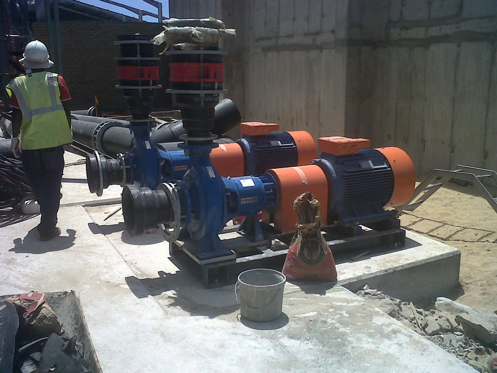 Pump installations